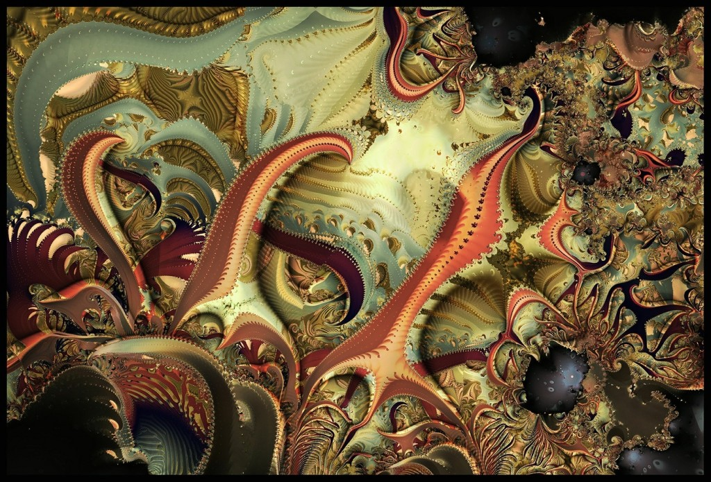 Fractal Tangled Lines wallpapers HD
