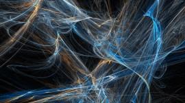 Fractal Tangled Lines Wallpaper For Desktop