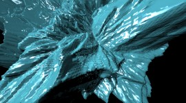 Ice Abstract Wallpaper For PC