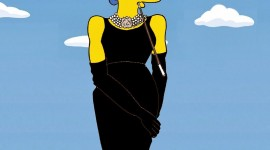 Marge Simpson Wallpaper For IPhone Free