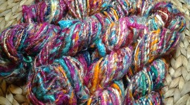 Multi-Colored Yarn Photo