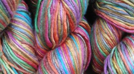 Multi-Colored Yarn Wallpaper Gallery