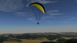 Paraglider High Quality Wallpaper