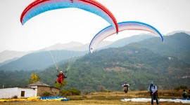 Paraglider Wallpaper Background