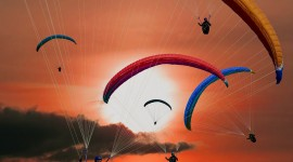 Paraglider Wallpaper For IPhone