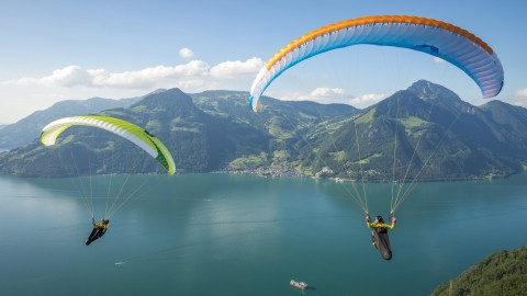 Paraglider wallpapers high quality