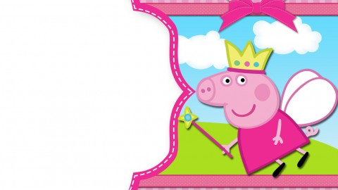 Peppa Pig Frame wallpapers high quality