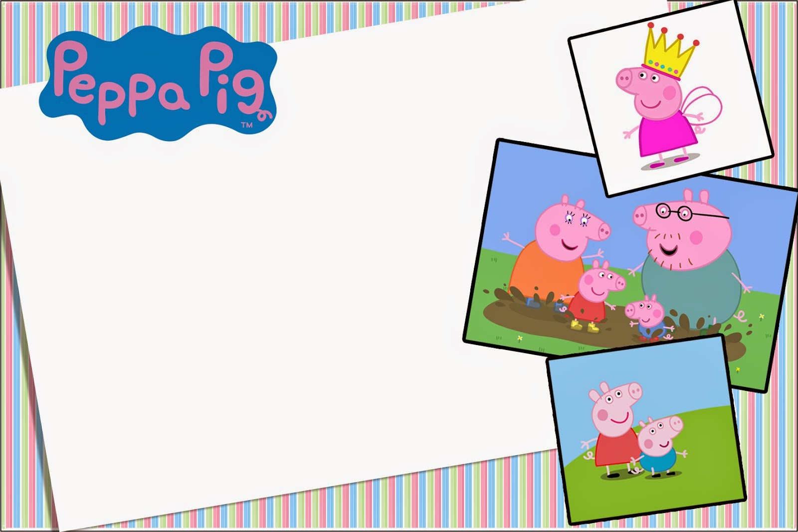 Peppa Pig Frame Wallpapers High Quality | Download Free