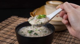Porridge With Meat Desktop Wallpaper HD