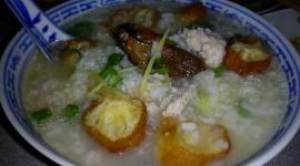 Porridge With Meat Wallpaper Background