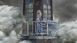 The Balcony Girl Image