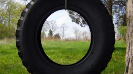 Tire Swing Wallpaper For IPhone