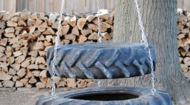 Tire Swing Wallpaper For IPhone#1