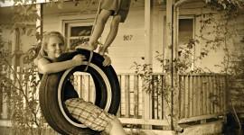 Tire Swing Wallpaper For Mobile
