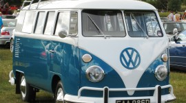 Volkswagen Van Desktop Wallpaper For PC
