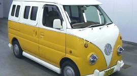 Volkswagen Van Desktop Wallpaper HD