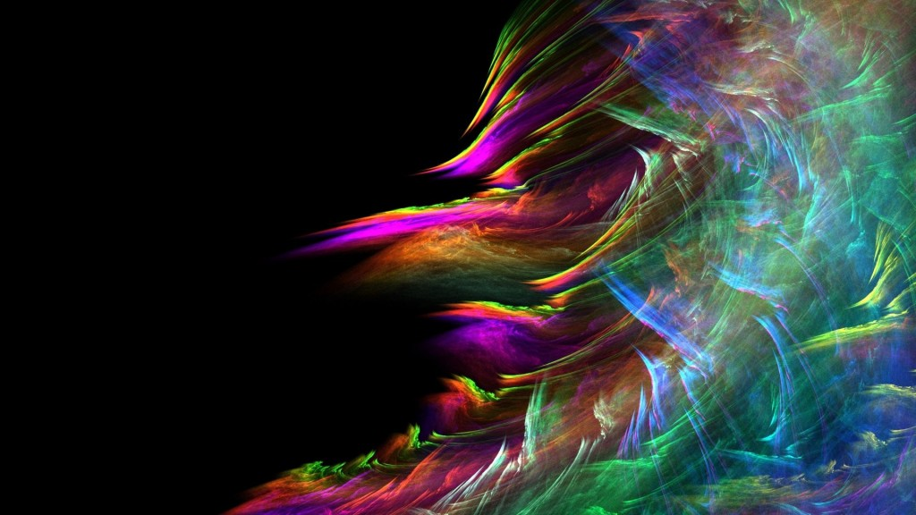 Waves Multi-Colored Abstraction wallpapers HD