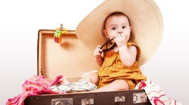 4K Baby Suitcase Aircraft Picture