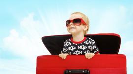 4K Baby Suitcase Image Download