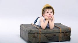 4K Baby Suitcase Photo Free