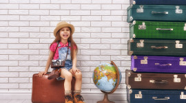4K Baby Suitcase Wallpaper For PC