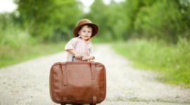 4K Baby Suitcase Wallpaper Free