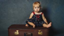 4K Baby Suitcase Wallpaper Full HD