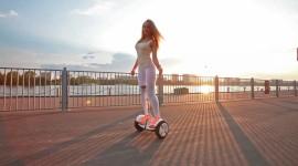 4K Self-Balancing Scooter Image Download