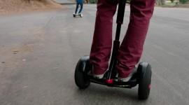 4K Self-Balancing Scooter Wallpaper Free