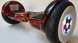4K Self-Balancing Scooter Wallpaper HQ