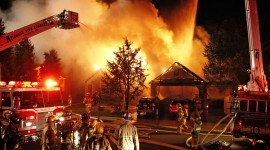 Arson At Home Wallpaper Free