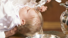 Baby Baptism Wallpaper For IPhone 6