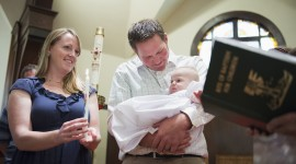 Baby Baptism Wallpaper Full HD