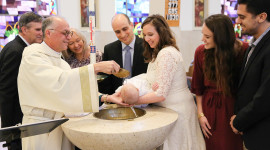 Baby Baptism Wallpaper HD