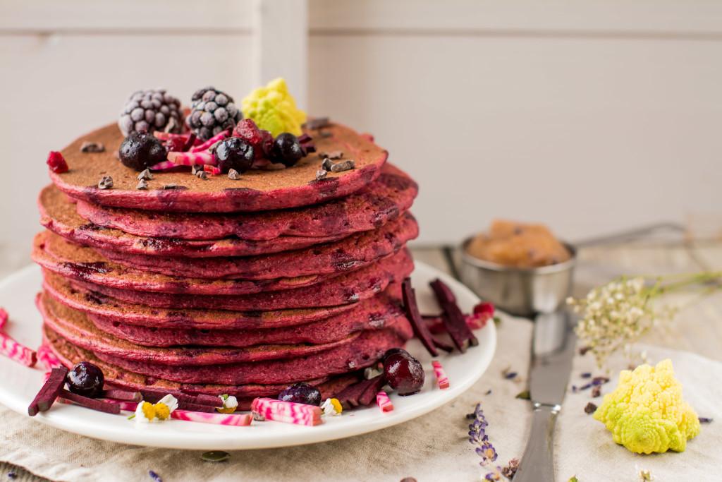 Beet Pancakes wallpapers HD