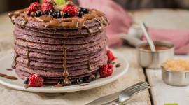 Beet Pancakes Wallpaper