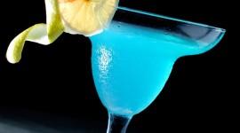 Blue Lagoon Cocktail Desktop Wallpaper