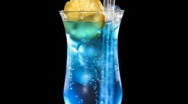 Blue Lagoon Cocktail For IPhone