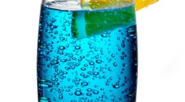 Blue Lagoon Cocktail For Mobile