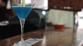 Blue Lagoon Cocktail Photo Free