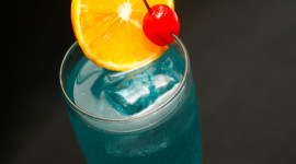 Blue Lagoon Cocktail Wallpaper Free