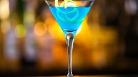 Blue Lagoon Cocktail Wallpaper HQ