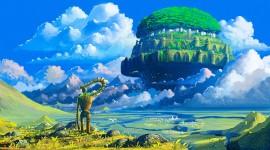 Castle In The Sky Desktop Wallpaper