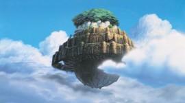 Castle In The Sky Wallpaper
