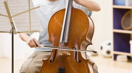Cello Wallpaper Background