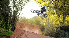 Downhill Cycling High Quality Wallpaper