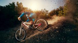 Downhill Cycling Wallpaper 1080p