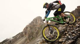 Downhill Cycling Wallpaper