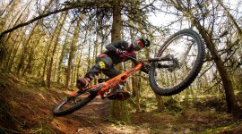 Downhill Cycling Wallpaper Download Free