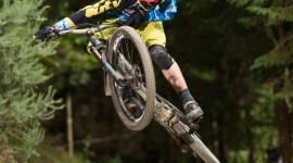 Downhill Cycling Wallpaper For IPhone